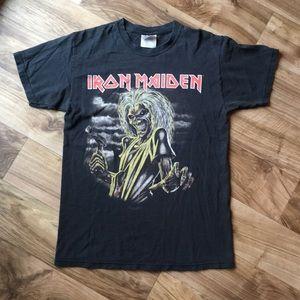 VTG Look Iron Maiden Concert T-shirt